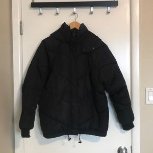 H&M Black Puffer Winter Coat (super warm)